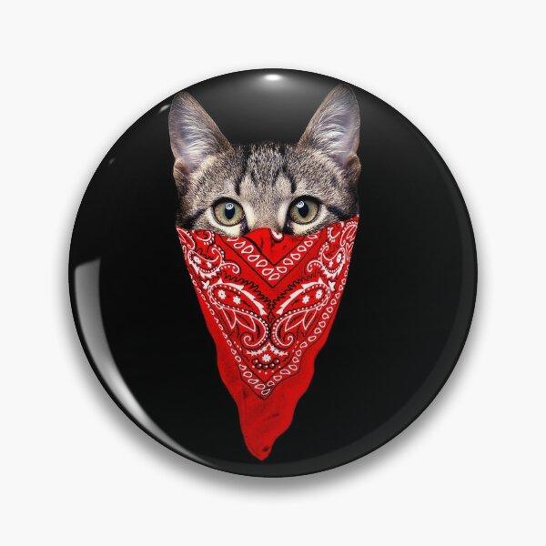 Gangster Cat Pin