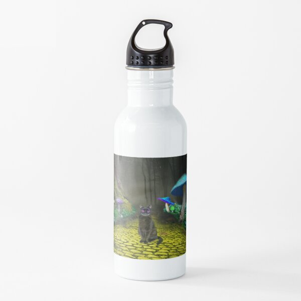 We're all mad here Water Bottle
