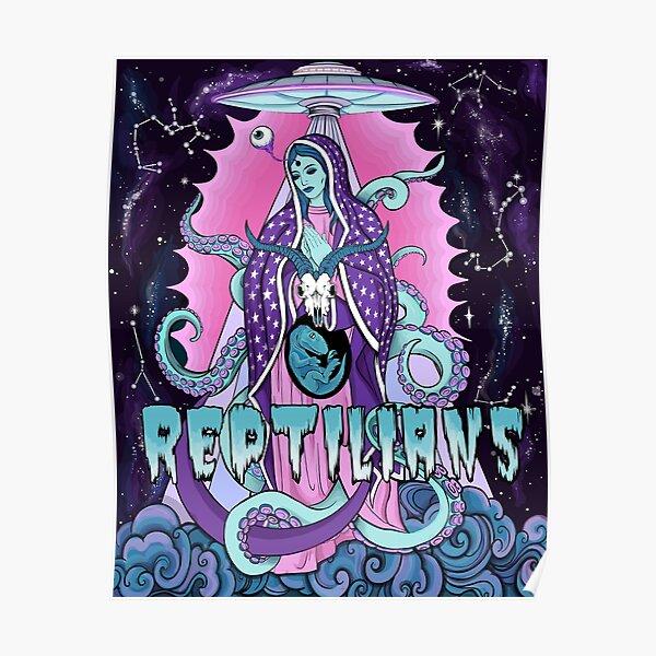 Reptilian Madonna  Poster
