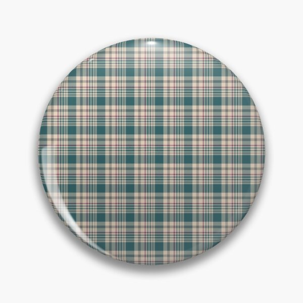 Hunter Plaid by Suzy Hager Pin