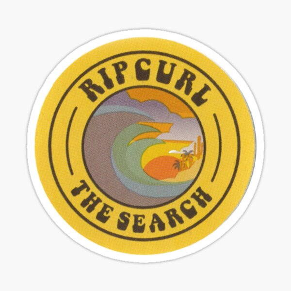 "Rip Curl ""The Search"" Circular Sticker"