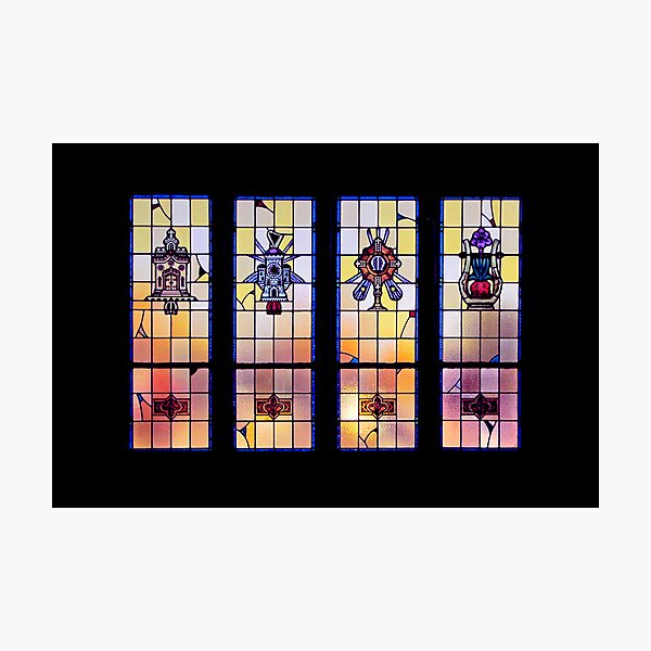 A Window Looking to Heaven Photographic Print