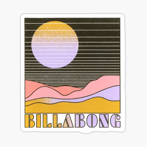 Billabong Retro Line  Sticker