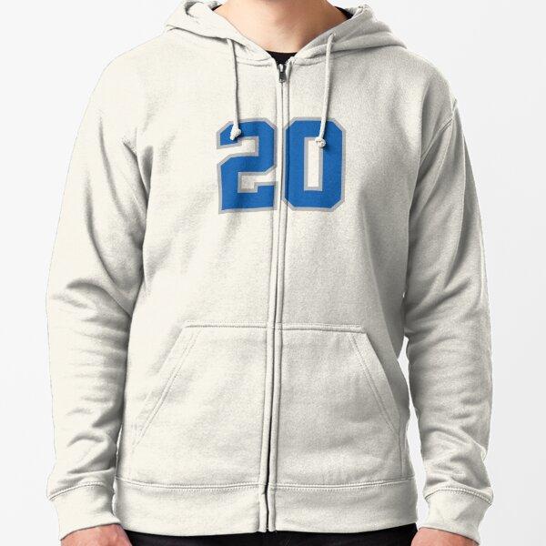Barry Sanders Detroit Lions Tecmo Bowl PIC Throwback sweatshirt Hoodie