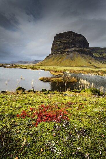 Lomagnupur, Loon Peak, Mt. Bjorninn, South Iceland by Heidi Stewart