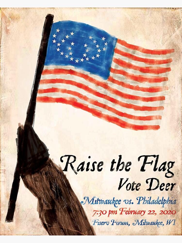 Raise the Flag by AJW3-Art