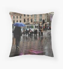 catching a rainbow Throw Pillow