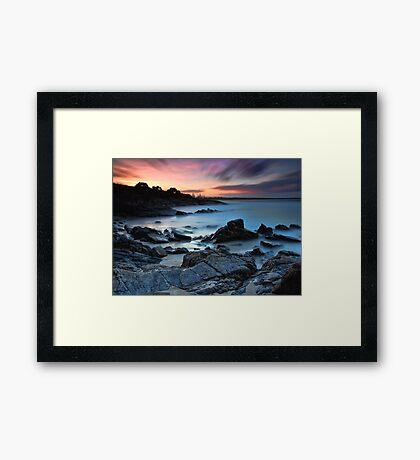 Cabarita Sunset Framed Print
