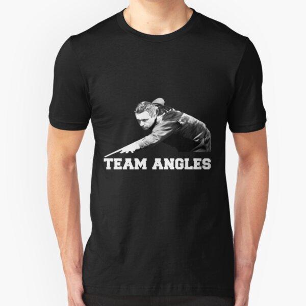 Snooker - Team Angles (Alan McManus Fans) Slim Fit T-Shirt