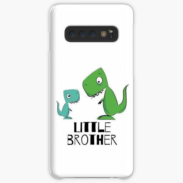 süße Dino Geschwister, little brother Samsung Galaxy Leichte Hülle