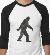 Grunge Sasquatch Bigfoot T Shirt Men's Baseball ¾ T-Shirt