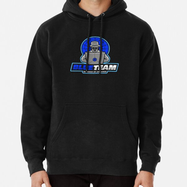 Blue Team - Defense by Offense Pullover Hoodie