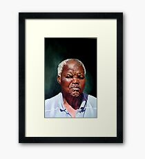 The Family Head, Petrus Framed Print