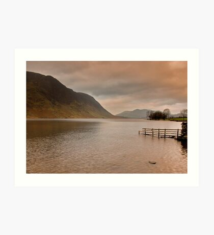 Morning at Buttermere Art Print