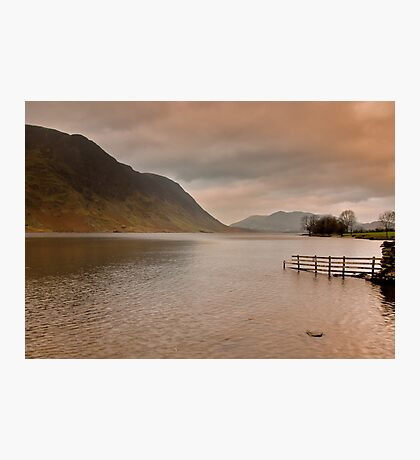 Morning at Buttermere Photographic Print
