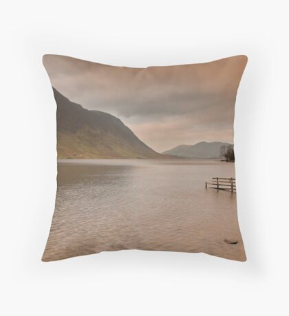 Morning at Buttermere Throw Pillow