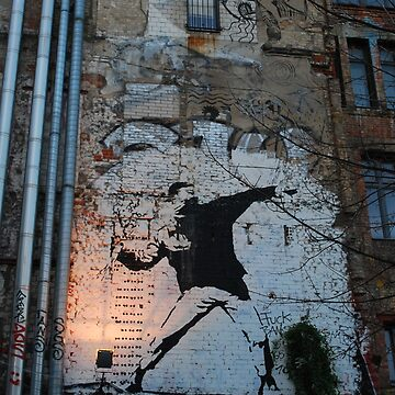 banksy by 64stops