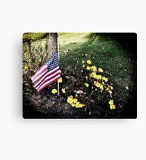 """Veterans Day 11-11-11"" Canvas Print"