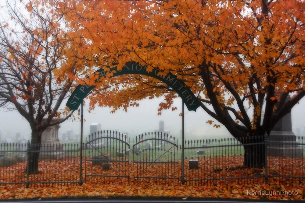 Autumn in the graveyard3 by KerrieLynnPhoto