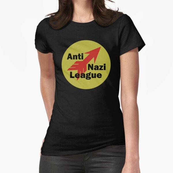 ANTI NAZI LEAGUE Fitted T-Shirt