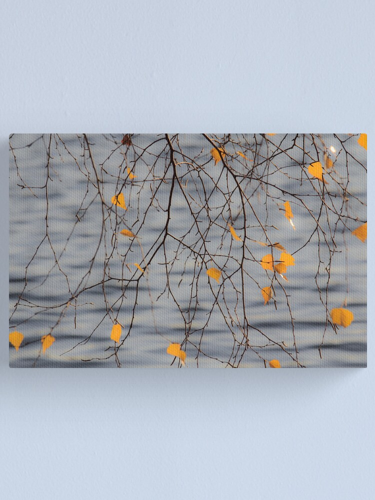 Alternate view of Golden Leaves Canvas Print
