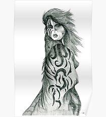 Pencil Cloak Woman Poster