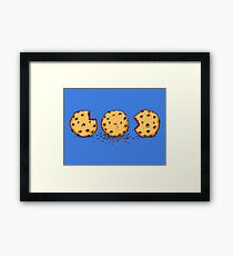 Cannibalism   Cute Cookie Framed Print