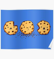Cannibalism | Cute Cookie Poster