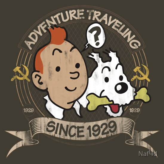TShirtGifter presents: Adventure Traveling Since 1929