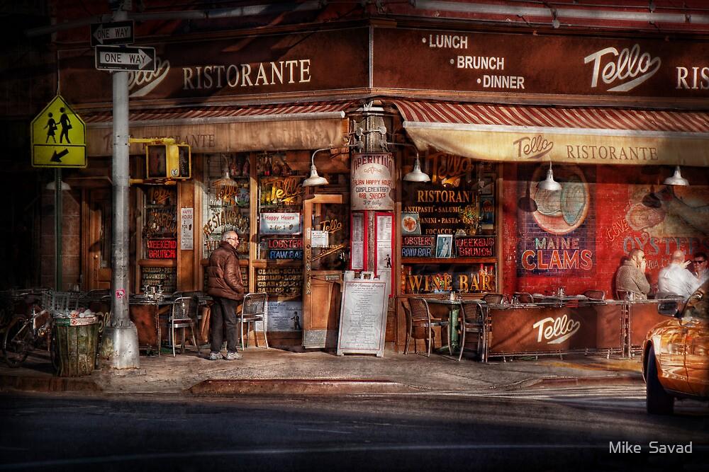 Cafe - NY - Chelsea - Tello Ristorante by Michael Savad