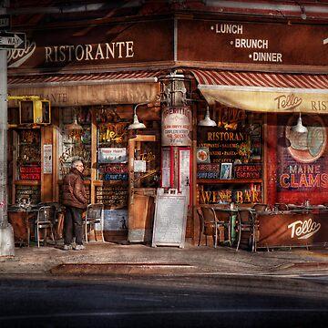Cafe - NY - Chelsea - Tello Ristorante by mikesavad