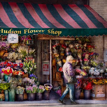 Flower Shop - NY - Chelsea - Hudson Flower Shop  by mikesavad