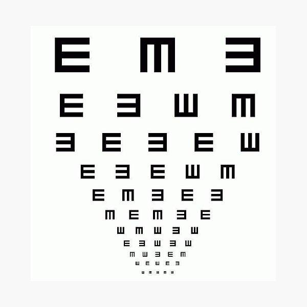 Camiseta divertida prueba de ojo Lámina fotográfica