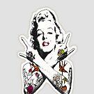 Punk Marilyn by princessvenom