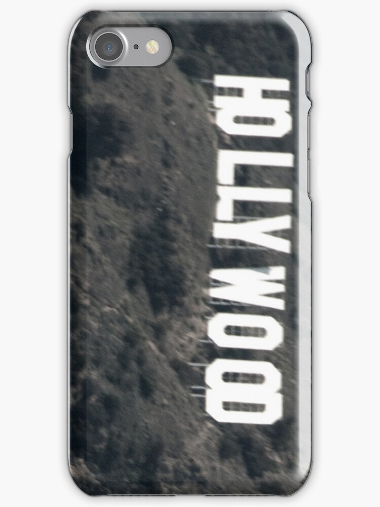 Hollywood Sign by cable