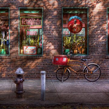 Bike - NY - Chelsea - The delivery bike by mikesavad