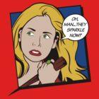 Buffy Pop Art by Tom Trager