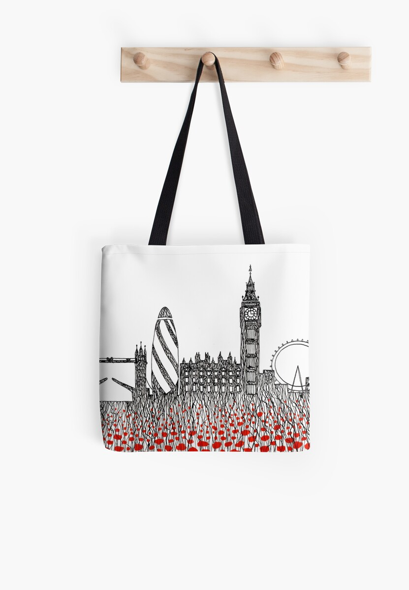 Remember ( London poppies) by Judit Matthews