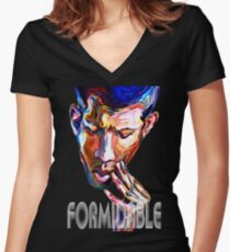 Formidable Women's Fitted V-Neck T-Shirt
