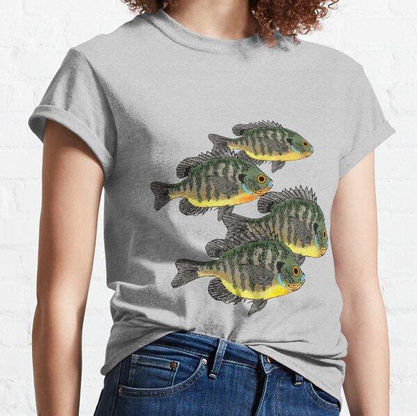 Bluegill Sunfish School Classic T-Shirt