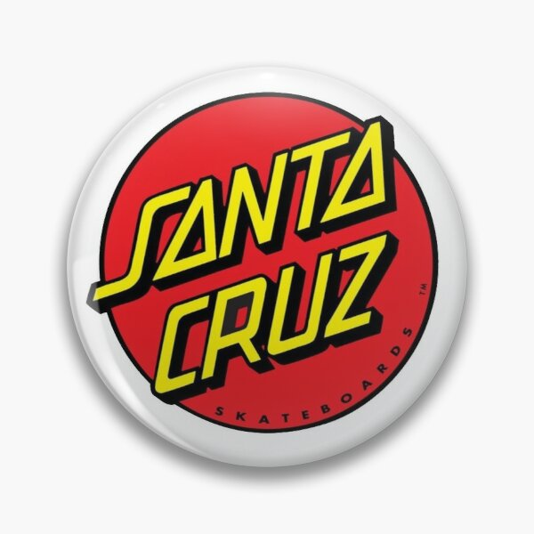 Santa Cruz Logo Pin