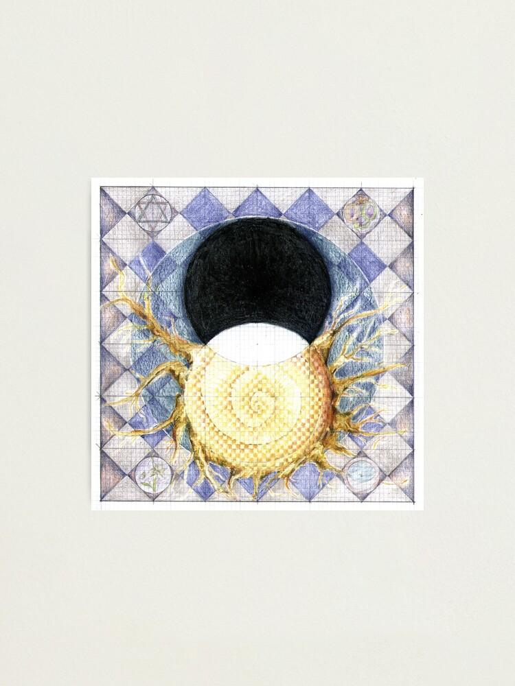 Alternate view of wheel 2: Co-Creative Evolution Photographic Print