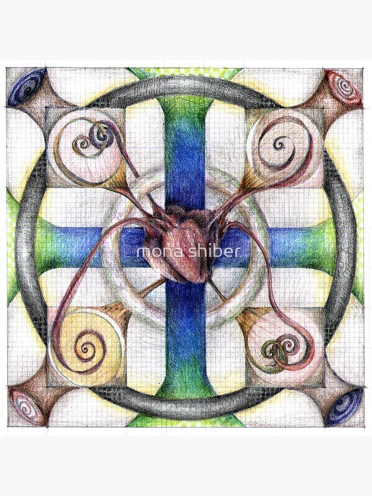 wheel 4: Path with Heart by MonaShiber