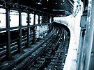 New York City Subway Tunnel #2 by Benedikt Amrhein