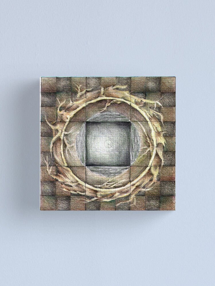 Alternate view of wheel 1: Unified Source Canvas Print