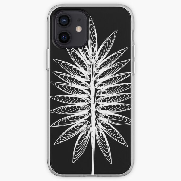 Leaf 1 white iPhone Soft Case