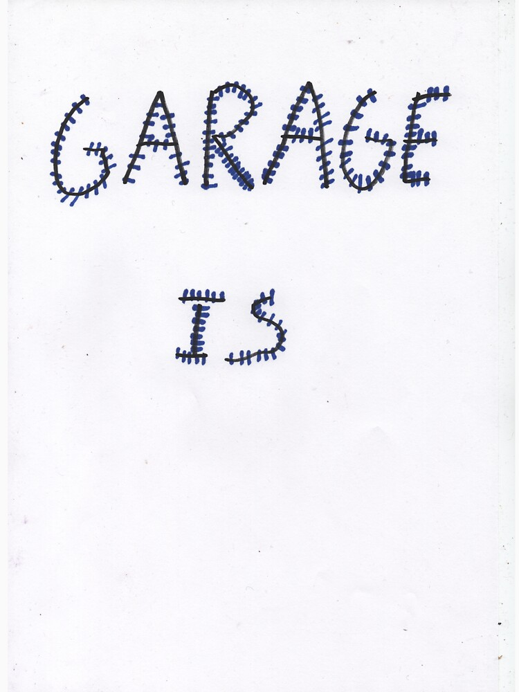 «for people wishing to show their love for garage music» par CremRoad