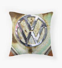 VW Badge Throw Pillow