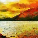 Loch Ness, Scotland by David Carton
