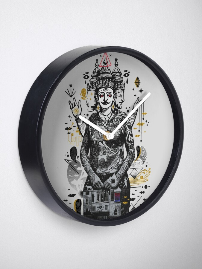 Alternate view of Dweller on the Threshold Clock
